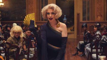 """Así luce Anne Hathaway en la nueva versión de """"The Witches"""" (Foto: HBO Max)"""