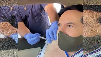 Pepillo Origel también recibió duras críticas cuando publicó que viajó a Estados Unidos para vacunarse contra la COVID-19(Foto: Instagram/juanjoseorigel)