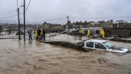 Se estima que fue el temporal más duro que sufrió la provincia en los últimos 60 años (Florencia Downes/Télam)
