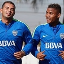 Edwin Cardona y Wilmar Barrios