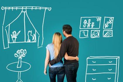 El 44% de los encuestados residen en viviendas de dos ambientes (Shutterstock)