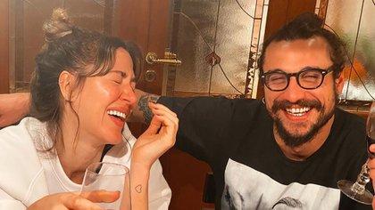 El futbolista acompañó a su ex pareja y madre de su hijo menor en su festejo de cumpleaños (Foto: Instagram)