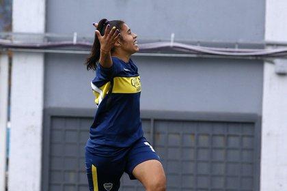 Cabrera celebra para Boca
