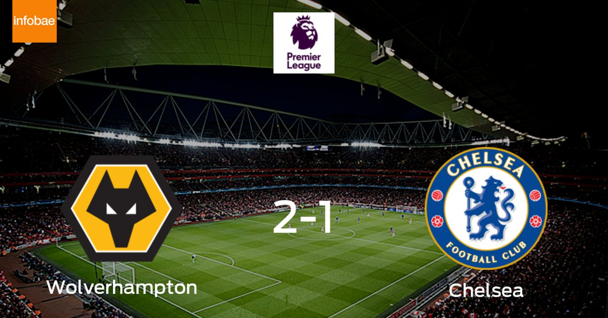 Triunfo de Wolverhampton Wanderers ante Chelsea (2-1) - Infobae