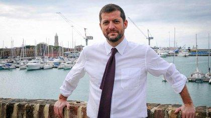 El diputado italiano Andrea Romano (Facebook).