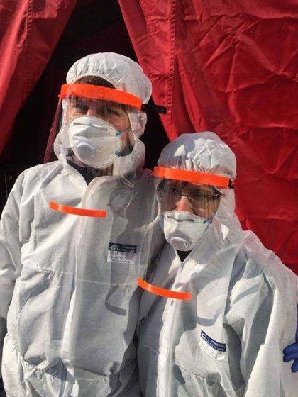 La máscara facial realizada en impresoras 3D forma parte del equipo de protección que necesitan los profesionales de la salud para atender los pacientes con coronavirus