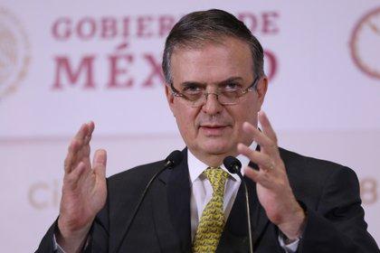 Marcelo Ebrard es el funcionario con mejor reputación mediática de la 4T (Foto: EFE/Sáshenka Gutiérrez)