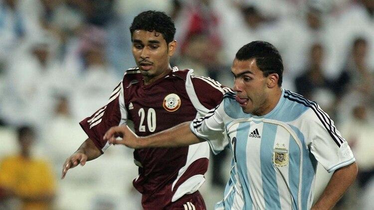 Argentina sólo jugó una vez contra Qatar y fue un triunfo en el 2005 (Foto: AFP)