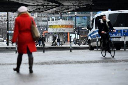 Estación de tren Alexanderplatz, en Berlín, Alemania. REUTERS/Annegret Hilse
