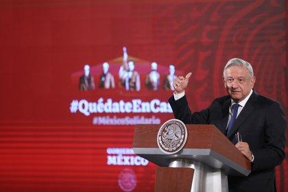 López Obrador rendirá su segundo informe de gobierno este lunes (Foto: Sáshenka Gutiérrez/ EFE)