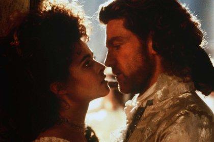 Kenneth Branagh y Helena Bonham Carter (Shutterstock)