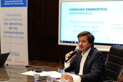 Fernando Blanco Muiño, director nacional de Defensa del Consumidor