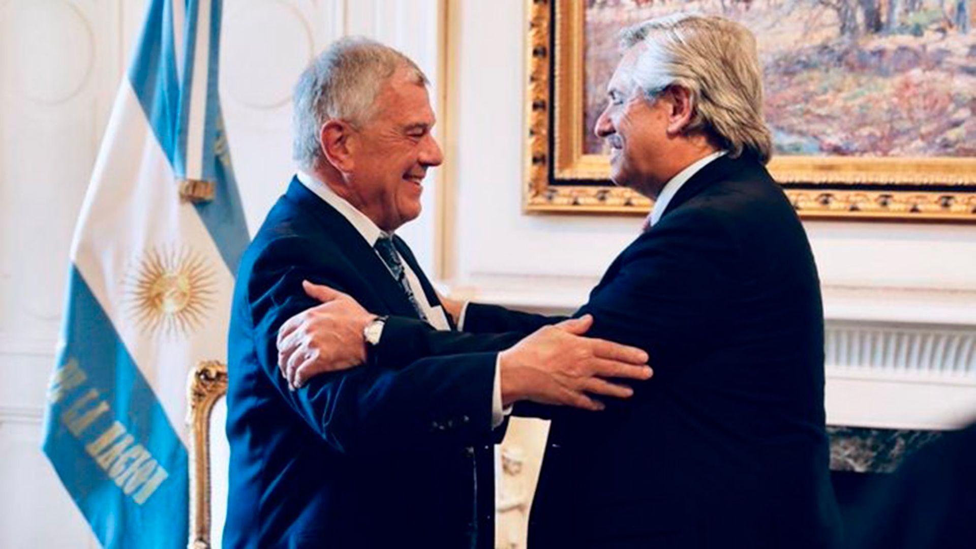 Alberto Fernández recibe en Casa Rosada a Michael Kozak, subsecretario de Estado para América Latina