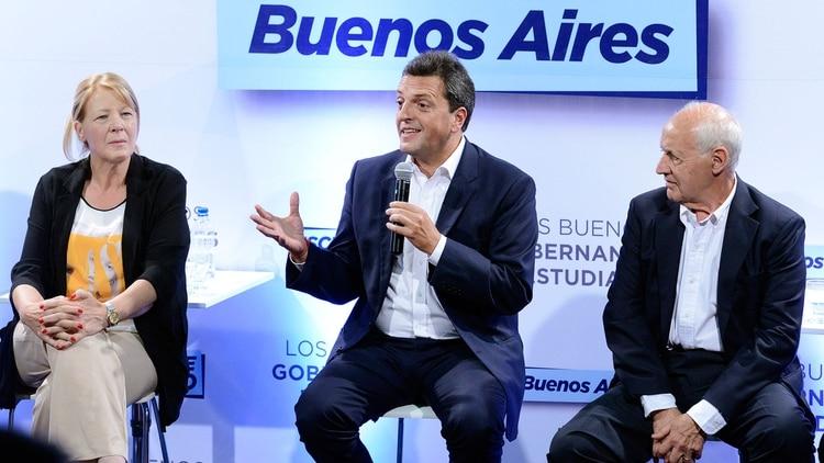 Lavagna acompañó a Massa en el 2017 cuando fue candidado a senador nacional
