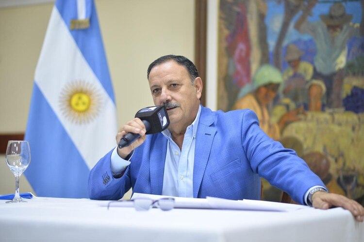 El gobernador de La Rioja, Ricardo Quintela.