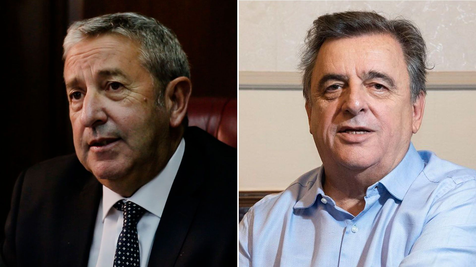 Julio Cobos y Mario Negri