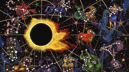 Los eclipses han sido retratados a lo largo de la historia por el hombre