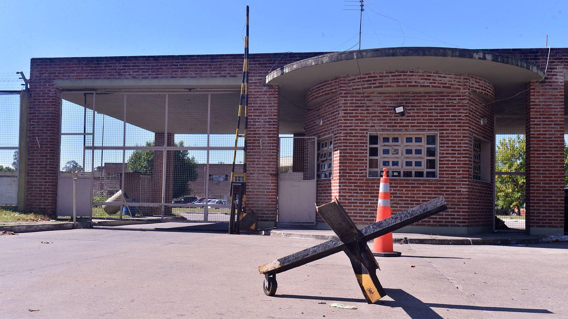 La alcaidía de Melchor Romero, donde los rugbiers permanecen encerrados (Marcos Gómez)