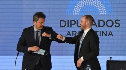 Sergio Massa y Martín Guzmán