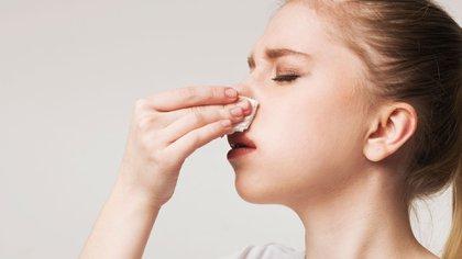 En las fosas nasales abundan los vasos sanguíneos, que son los encargados de calentar el aire que inspiramos cuando pasa por la nariz (Shutterstock)