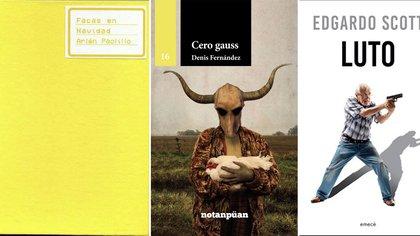 """""""Facas en Navidad"""", de Arlén Paolillo; """"Cero gauss"""", de Denis Fernández, y """"Luto"""", de Egardo Scott"""