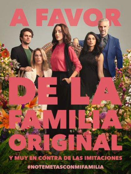 En esta nueva temporada es Paulina de la Mora, personaje de Cecilia Suárez, quien debe tomar el control de la familia. (Foto: Instagram)