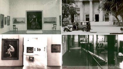 La sede de Recoleta,  la antigua Casa de Bombas: fachada y algunas salas