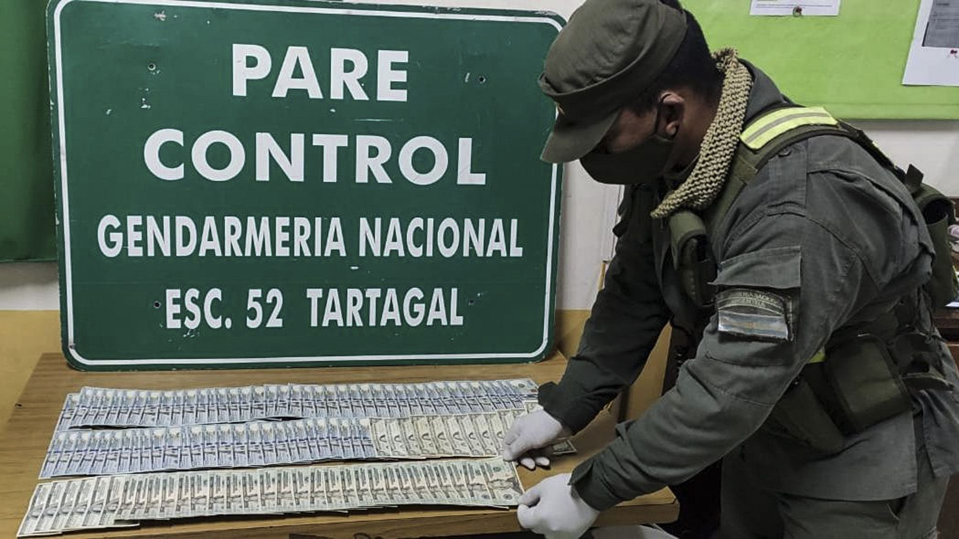 Camión-Gendarmería-Salta