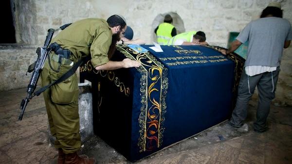 La tumba de José, hijo de Jacob y Raquel (Getty)