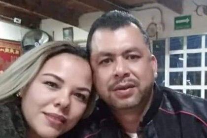Yesi perdió la vida en el lugar y su esposo Jaime se encuentra hospitalizado Foto: Facebook
