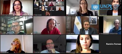 Conversación por el medio ambiente (ONU Argentina y RED ACCIÓN)