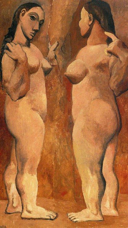 Dos mujeres desnudas (1906)