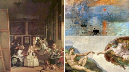 Las obras de Diego Velázquez, Miguel Ángel y Claude Monet forman parte del 3D Art Museum