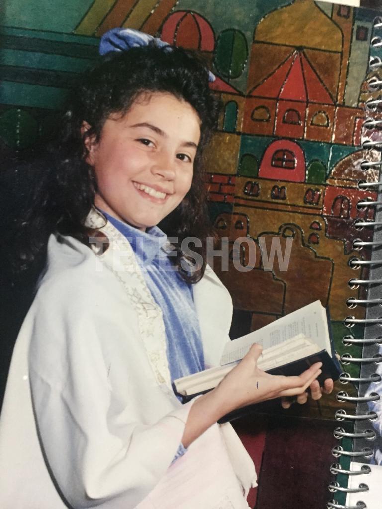 Natacha en su infancia