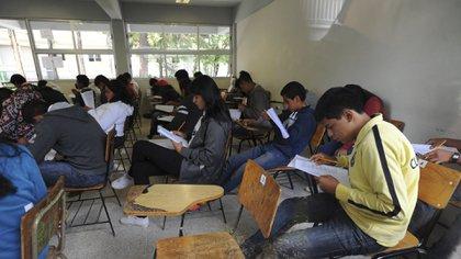 La aplicación del examen será los días 15,16, 22 y 23 de agosto (Foto: Cuartoscuro)
