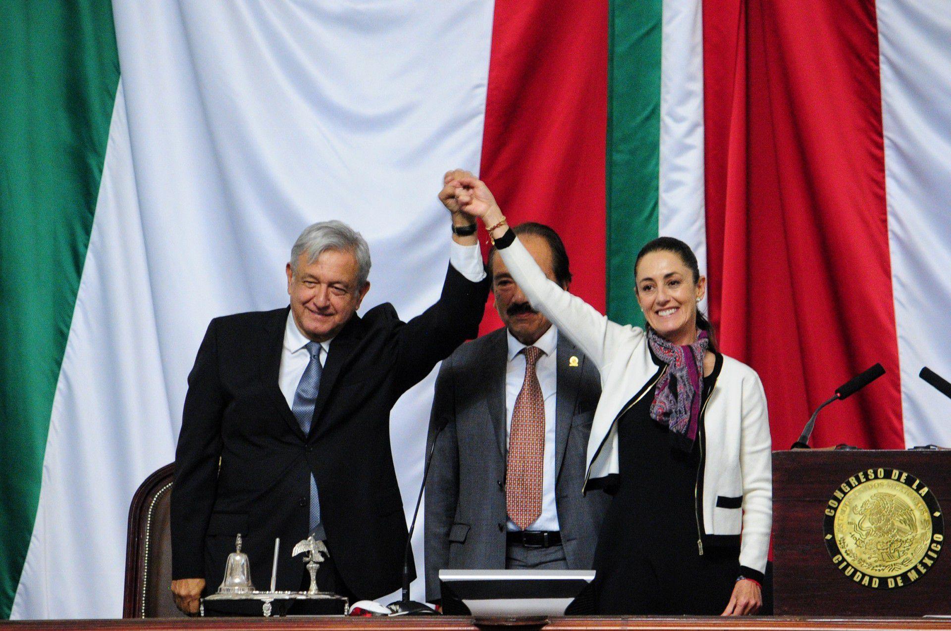 La jefa de gobierno de la Ciudad de México, Claudia Sheinbaum, expresó su apoyo al presidente Andrés Manuel López Obrador (Foto: Archivo)
