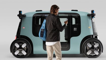 Zoox de Amazon presentó su primer vehículo autónomo
