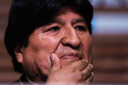 """""""Si no nos unimos, vuelve [Evo] Morales, si no nos unimos la democracia pierde"""", dijo la presidente interina de Bolivia, Jeanine Áñez (EFE/Juan Ignacio Roncoroni/Archivo)"""