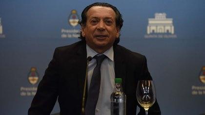 El ministro Dante Sica (Franco Fafasuli)