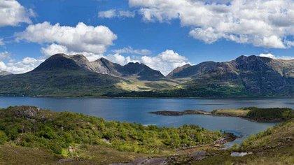 El fósil fue encontrado en Loch Torridon en las Tierras Altas del Noroeste de Escocia