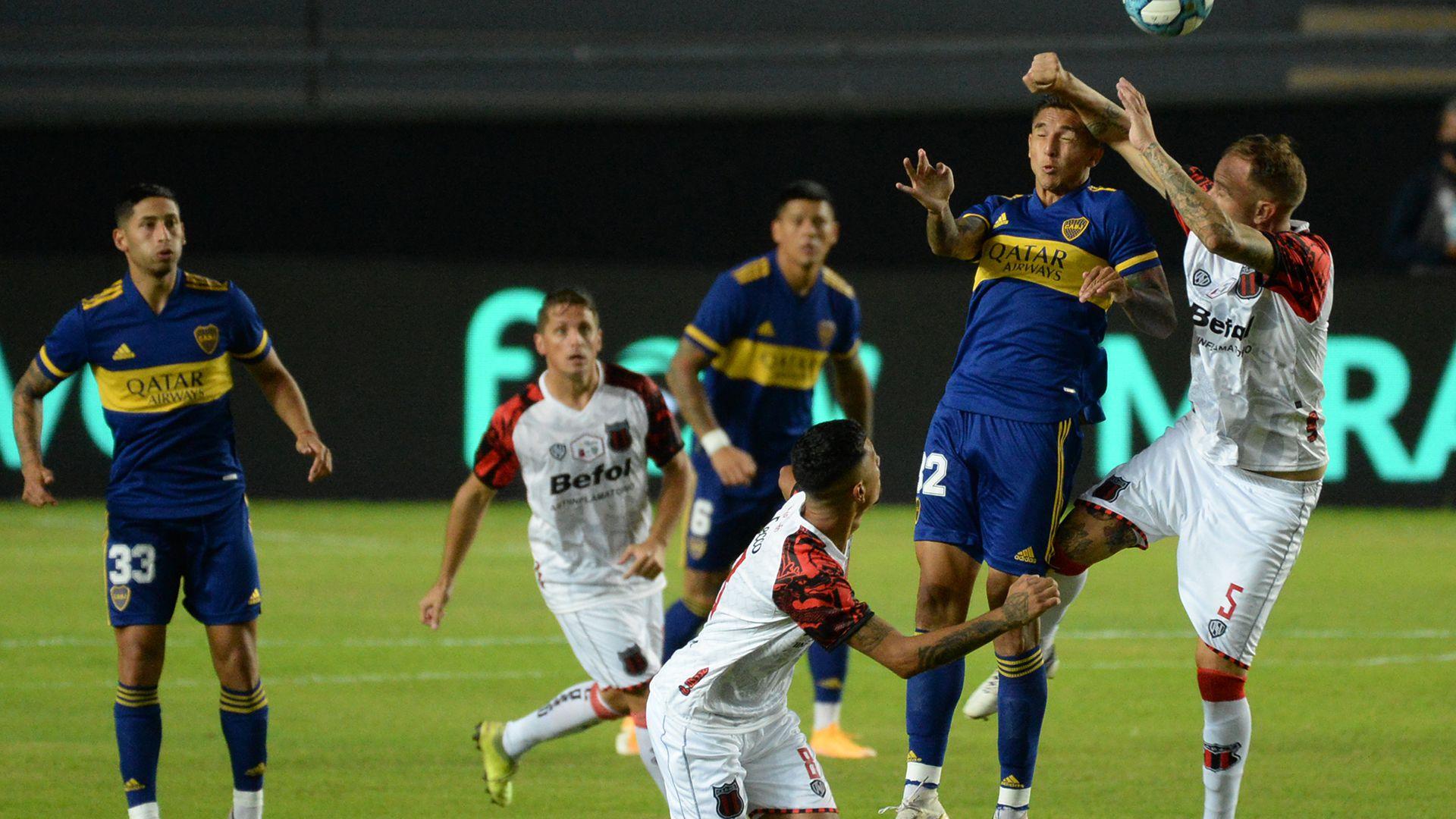 Boca vs Defensores de Belgrano