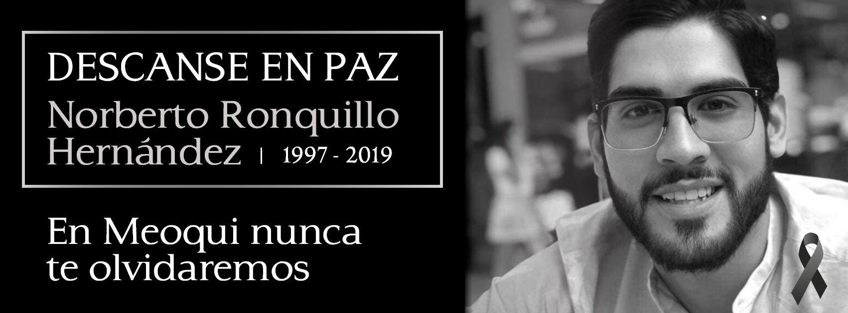 La despedida de la comunidad de Meoqui para Ronquillo (Foto: Facebook – Presidencia municipal de Meoqui)