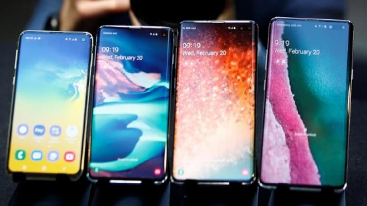 Se lanzó la preventa de los Samsung Galaxy S10 en la