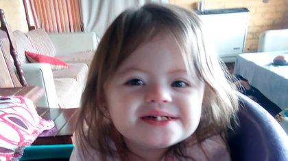 Jazmín, la nena de tres años que debía ser trasladada