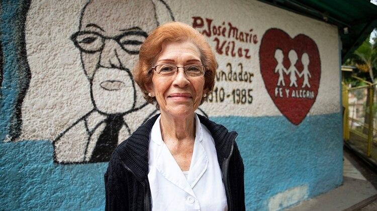 Noelia Páez, directora de la escuela Virgen Niña cuenta que en enero se quedaron con apenas dos maestros tras la renuncia de una docena