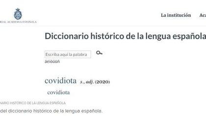 El diccionario de la lengua española está vivo y lo demostró en 2020 con más de 2500 nuevas palabras incorporadas, muchas de la cuales están relacionadas directamente con la pandemia por COVID-19 generada a raíz del nuevo coronavirus a fines de 2019 en China.