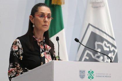 "Claudia Sheinbaum, chef du gouvernement de Mexico, nommera Alberto Fernández ""Invité distingué"" de Mexico (Photo: José Pazos / EFE)"