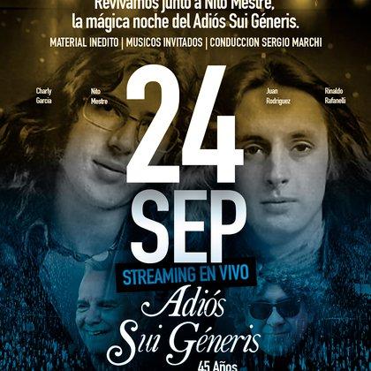 La celebración por los 45 años de Adiós Sui Generis