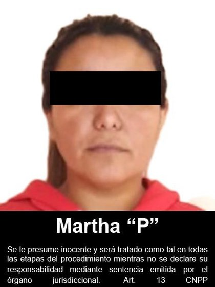 """The location of Martha """"P"""" was achieved in a property located in the Arboledas Sector of the city of Matamoros, in Tamaulipas (Photo: FGR)"""
