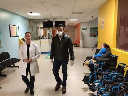 El mandatario se encuentra aislado y sigue el protocolo de la Secretaría de Salud (Foto: Twitter/ @omarfayad)